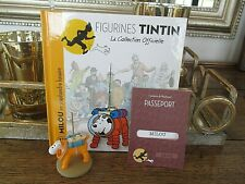 TINTIN  FIGURINE  COLLECTION  OFFICIELLE N° 32  MILOU LUNAIRE  NEUF