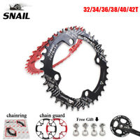 104bcd MTB Bike Narrow Wide Chainring & Chain Guard Protection Cover 32~42T US