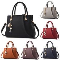 Women Handbag Shoulder Bags PU Leather Tote Purse Top Handle Hobo Bag Satchel