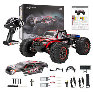Electric Remote Control RC Car Brushless 52km/h 40+ MPH 1:10 Scale 4WD Off-Road