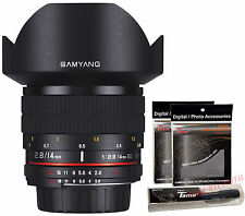 Samyang 14mm F2.8 ED AS UMC Ultra Wide Angle Lens for Pentax K DSLR + Free GIFT
