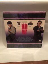 The Hard Way /  Letterboxed  Laserdisc