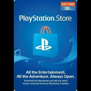 PSN Card 20$ (USD) PlayStation Network USA