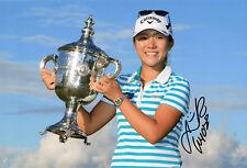 Lydia Ko, New Zealand golfer, LPGA Tour, signed 12x8 inch photo. COA.