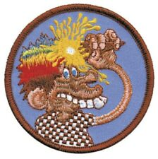 Grateful Dead Ice Cream Cone Kid Embroidered Patch G046P Phish Jerry Garcia