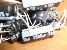 10 x 3300uf 25v 85 Deg Radial Electrolytic Capacitor    FAST SHIPPING