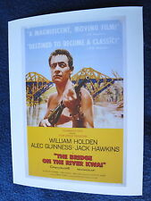 BRIDGE ON THE RIVER KWAI Oscar Best Picture 1957 Holden Guinness Hawkins Lean
