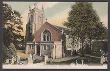 Postcard Botley nr Southampton Hampshire early All Saints Church FGO Stuart 433