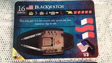 Wizkids Pirates CSG Davey Jones - America 088 BLACKWATCH - rare + unpunched MINT