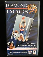 DIAMOND DOGS ~ THE STORY OF FOOTSCRAY'S 1992 SEASON ~ OFFICIAL AFL VHS VIDEO