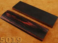 """COPPIA di multi colore del legno esotico 5"""" SCALE maniglia per spazi Bush artigianato 5019"""
