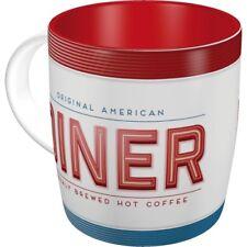 AMERICAN DINER Tasse Kaffeetasse Cafe Mug Teetasse USA Bar retro Rockabilly