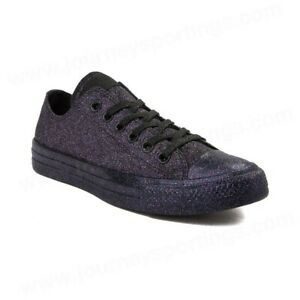 Converse Chuck Taylor All Star OX Black 162992C Mens Size 10 Womens Size 12 NEW