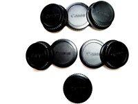 4 Sets Canon Camera Body &  Rear Lens caps for PRO DSLR-EOS Cameras/EF/EFS lens