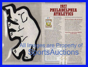 1927 PHILADELPHIA ATHLETICS Willabee Ward COOPERSTOWN COLLECTION BASEBALL PATCH