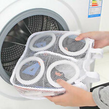New Laundry Bag Shoes Washing Drying Mesh Net Trainers Protective Storage Pouch