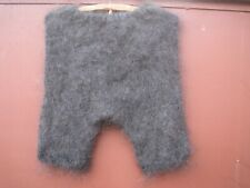 Briefs shorts leggings goat down hand knitted craft cashmere Mohair Angora craft
