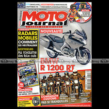 MOTO JOURNAL N°2044 BMW R 1200 RT CLASSIC TOURER, SUZUKI C 800, GUZZI 750 NEVADA
