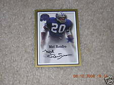 Ozzie Newsome signed 2000 Fleer Greats of Game card