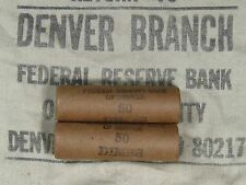 (ONE) UNSEARCHED Mercury Silver Dime Roll Marked FRB Denver - 1916-1945 PDS