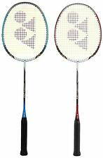 Yonex Nanoray D1 Badminton Racquet Combo (Red+White) Pack of 2