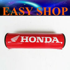 RED HANDLEBAR PAD FOAM PROTECTOR COVER HONDA CRF50 XR50 CRF70 XR70 CR CRF 80 85