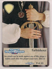 Spellfire 1995 Artifacts Ultra Rare UR Chase 11/20 Forbiddance LP