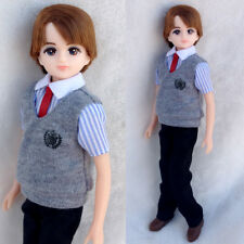 9 inch LICCA boy friend for Girls Kids Great Gifts head+ body+clothes+shoes