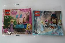 2 Lego Disney Princess Polybags 30116 30551 Polybag NEU