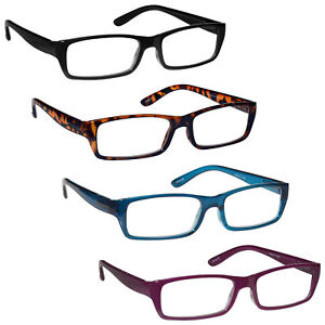 UV Reader Lightweight Reading Glasses Womens Ladies Spring Hinges R16