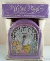 Mint Electric Vintage Miss Piggy TIMEX Alarm Clock 1982 NIB New