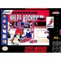 NHLPA Hockey 93 Super Nintendo Game SNES Used