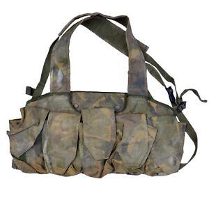 CHEST RIG Tactical British Army Airborne Webbing Vest Olive Woodland DPM ARKTIS