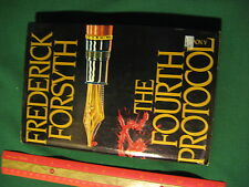 The Fourth Protocol by Frederick Forsyth HB 3rd Pr. 1984