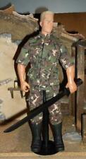 "1/6 Scale 12"" GI Joe Street Fighter Van Dam Colonel GUILE Movie Version loose"