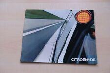217149) Citroen DS Prospekt 09/1971