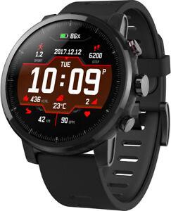 Amazfit Stratos schwarz Smartwatch Sport GPS Bluetooth WLAN