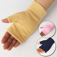 Women Men Gloves Fingerless Fleece Half-Fingers Fuzzy Warm Winter Plush Gloves