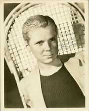Amazing Vintage JACKIE COOPER Signed Photo