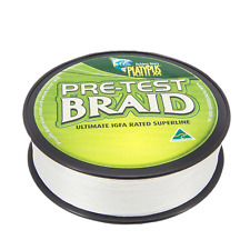 Platypus IGFA Pre-test Fishing Braid - White or Green  - World's Best Since 1898