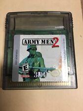 Nintendo Game Boy Color Army Men 2 Gbc Game Cartridge