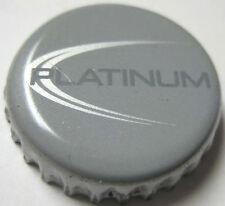 BL PLATINUM Beer Crown, Bottle Cap, Bud Light, Anheuser-Busch Brewery, MISSOURI
