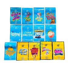 10x/25x/50x/100x Empty Cookie Cosa Nostra  Holographic mylar Bags Smell-proof