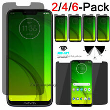 Privacy Tempered Glass Screen Protector For Motorola Moto G7 Play Power Supra