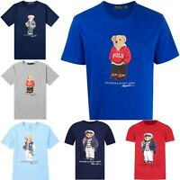 Polo Ralph Lauren Men's Big & Tall Classic-Fit Bear Crew Neck T-Shirt Tee