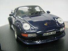 WOW EXTREMELY RARE Porsche 993 911 GT2 Evo1 450HP 1995 Blue m 1:43 Vitesse-Spark