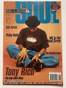 **TONY RICH / 3T / PRINCE UK B&S BLUES & SOUL MUSIC MAGAZINE 1996**