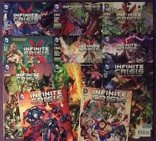Infinite Crisis Fight for the Multiverse #1 to #12 (no #4) (DC 2014) 11 issues.
