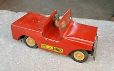 """1960's Vintage Rare """" BAMBO """" Friction Jeep Boite Toy-Top Condition ,Japon ?"""