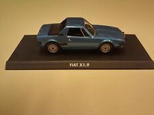 DIE CAST 1/43 FIAT X1.9 BLUE - ITALIAN CAR NOREV MODEL IT3